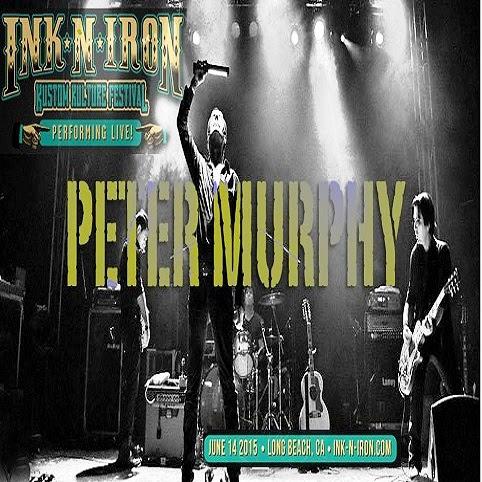 Peter Murphy - Kustom Kulture Festival, Ink N Iron,Long Beach, 14