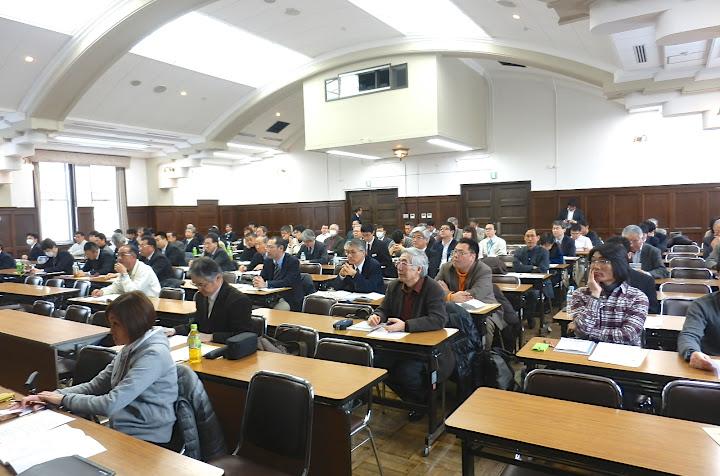 会場風景(北海道大学農学部大講堂・4F)