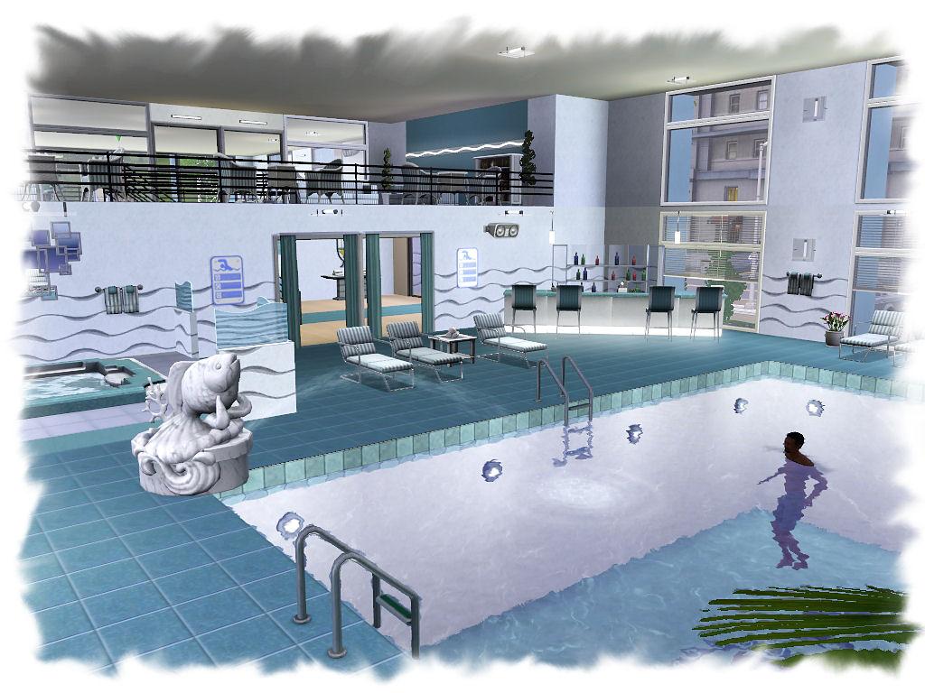 My Sims 3 Blog: Sunset Valley Gym by Nengi65 - No CC