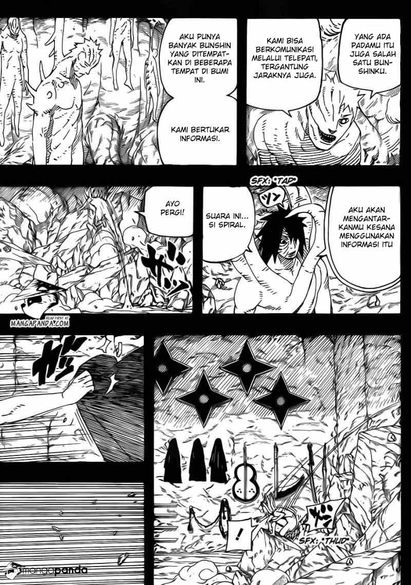 Manga naruto 604 page 7