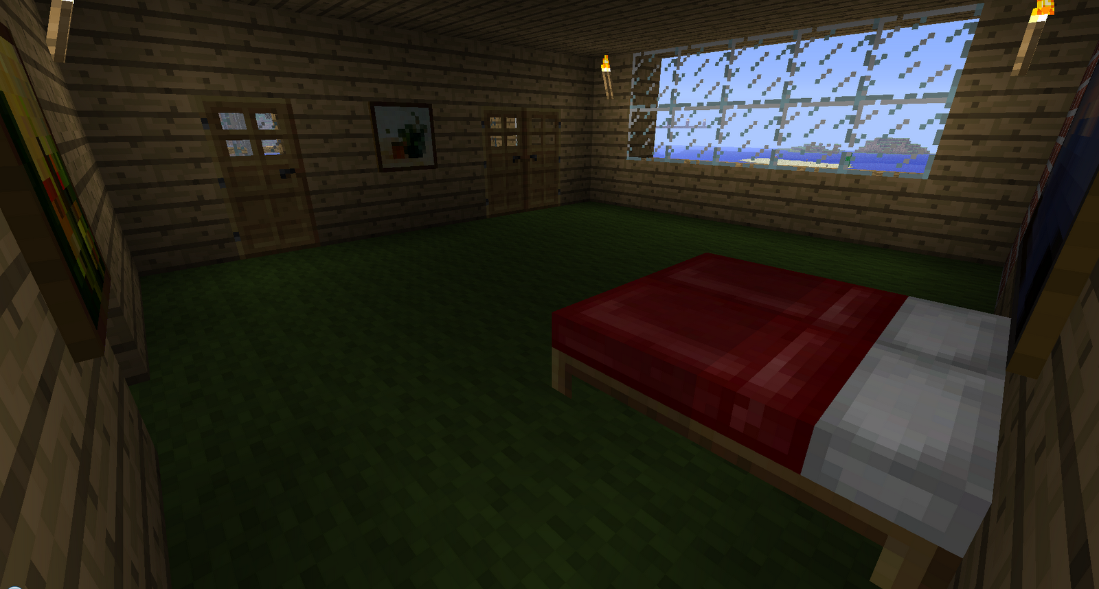 Minecraft stuff minecraft modern house for Modern home to go