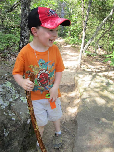 The Greatest Smile - Rock House Cave Trail