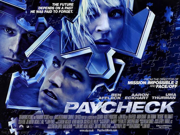 Paycheck, con Ben Affleck y Uma Thurman
