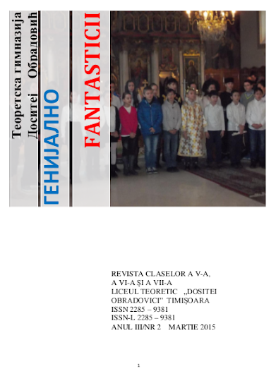 ed5 (PRINT - gimnaziu) fantasticii_Liceul Teoretic_Dositei Obradovici_Timișoara_TIMIS