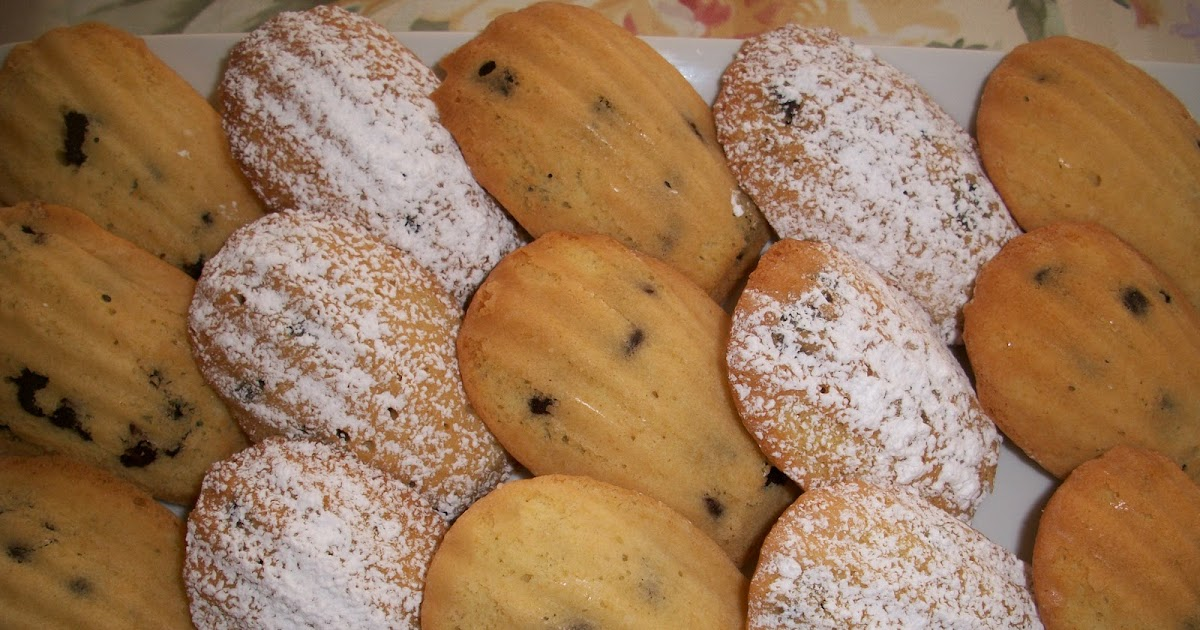 Parnell's Pantry: Chocolate Chip Madelines