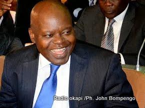 Fidèle Babala, député national et secrétaire général adjoint du MLC. Ph. John Bompengo/ Radio Okapi