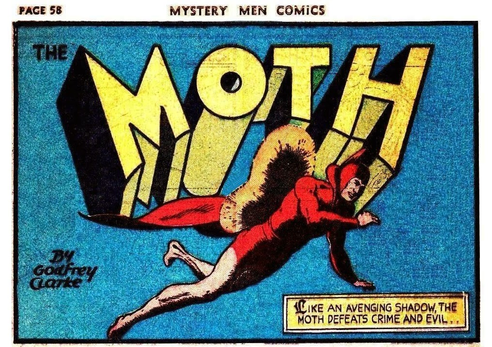 The Moth da Mystery Men Comics n. 11