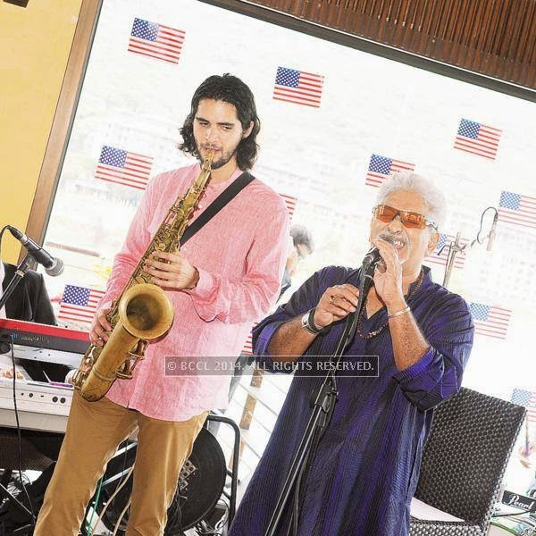 Members enjoy the jazz brunch with performances by Joe Alvarez and team at the Dasvino Country Club, Lavasa celebrating the rains at Lavasa.