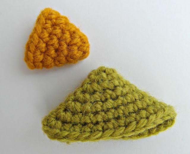 triangles - amigurumi shapes tutorial