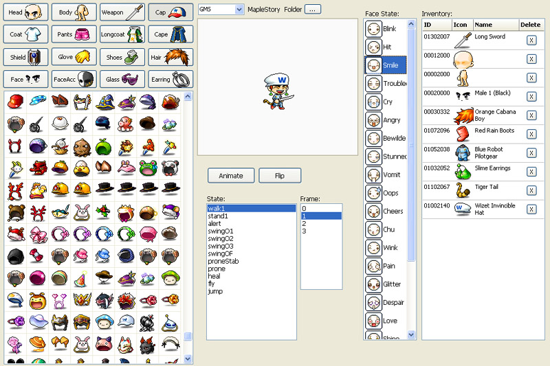 Find detail information for maplestory date for new character release
