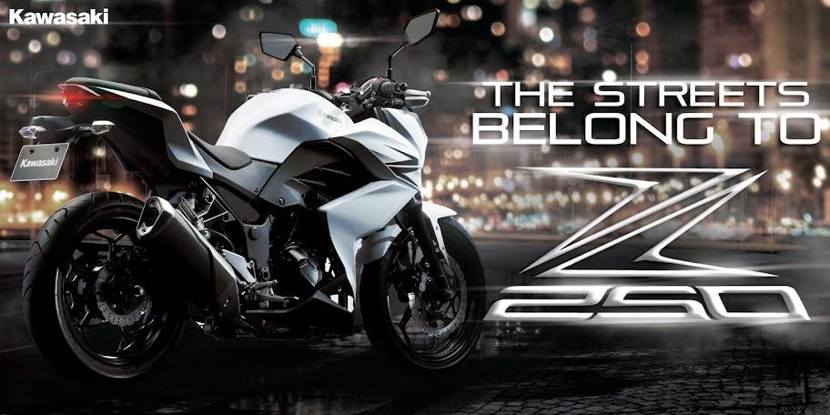 Harga Kawasaki Z250 dan Spesifikasi Terbaru 2013