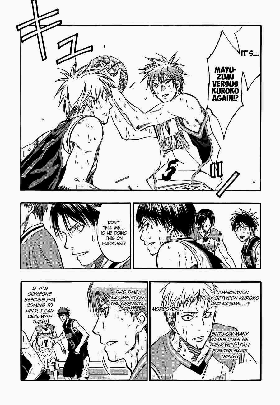 Kuroko no Basket Manga Chapter 248 - Image 11
