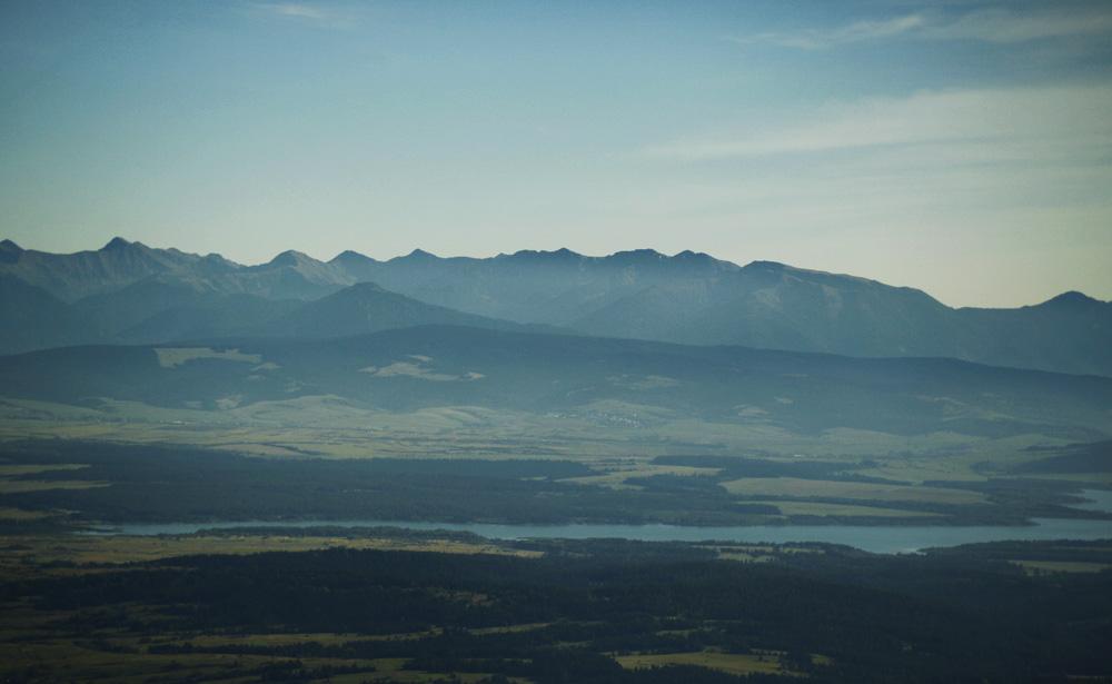 Jezioro Orawskie i Tatry Zachodnie