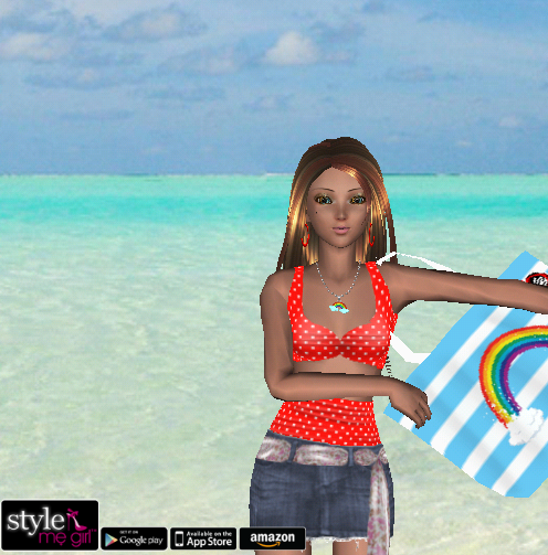 Style Me Girl Level 9 - Fara - Beachwear