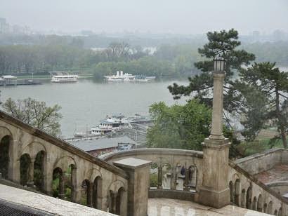 Белград, парк вокруг Калемегдана