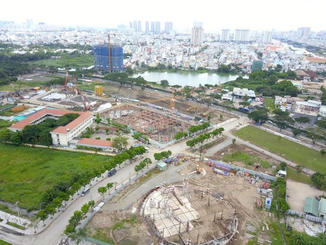 Quy mô lớn, công viên lớn là lựa chọn an cư tuyệt vời