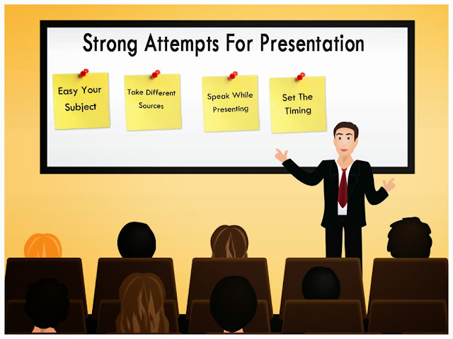 Strong Attempts For Presentation