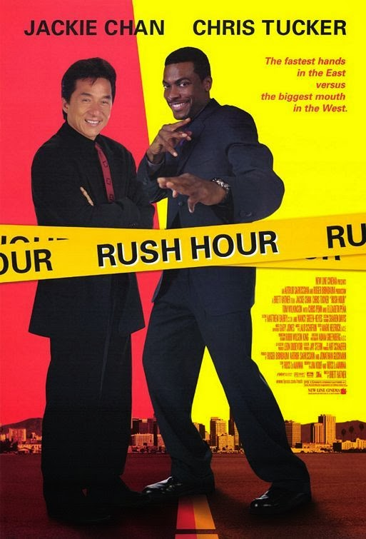 Poster Of Rush Hour (1998) Full Movie Hindi Dubbed Free Download Watch Online At Alldownloads4u.Com