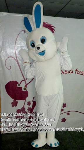 sản xuất mascot con thỏ