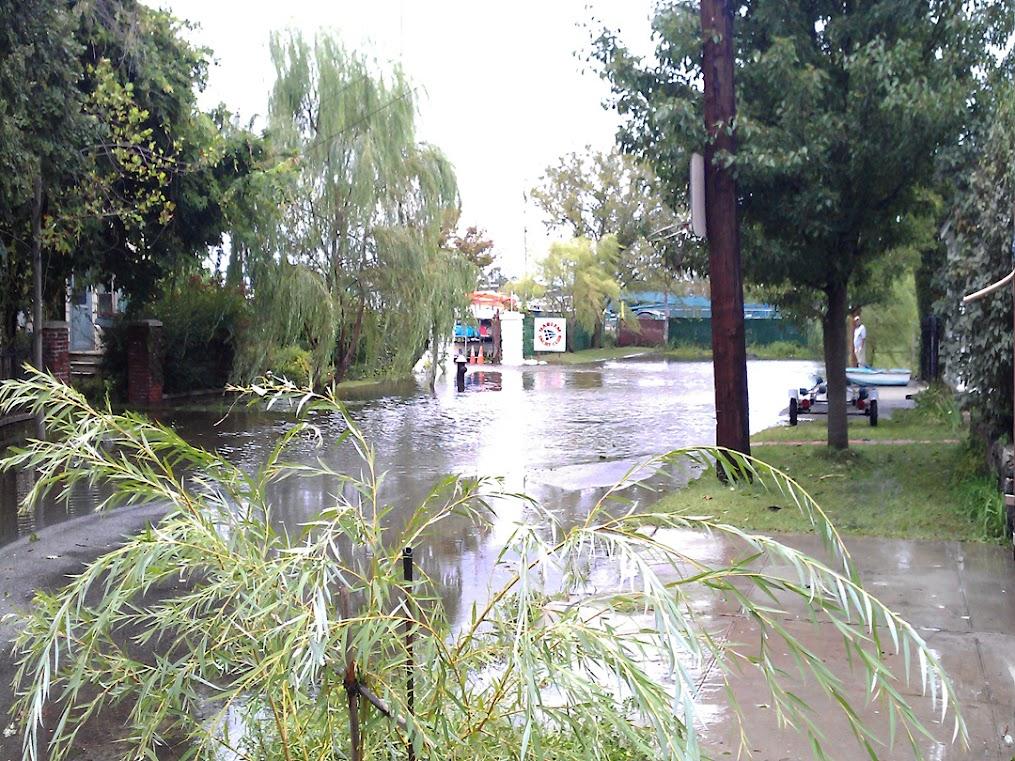 Ditmars St Hurricane Irene