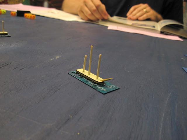 Ed's WIP Trafalgar ships.