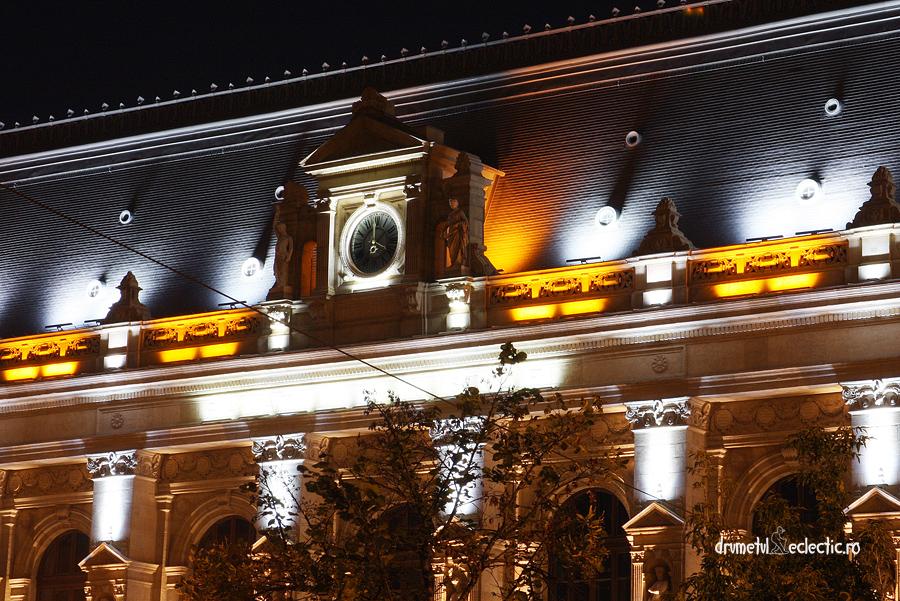 Bucuresti Bucharest noapte Justice Palace arhitectura Carol Storck