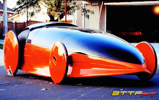 Automóveis do futuro - Carro Texaco