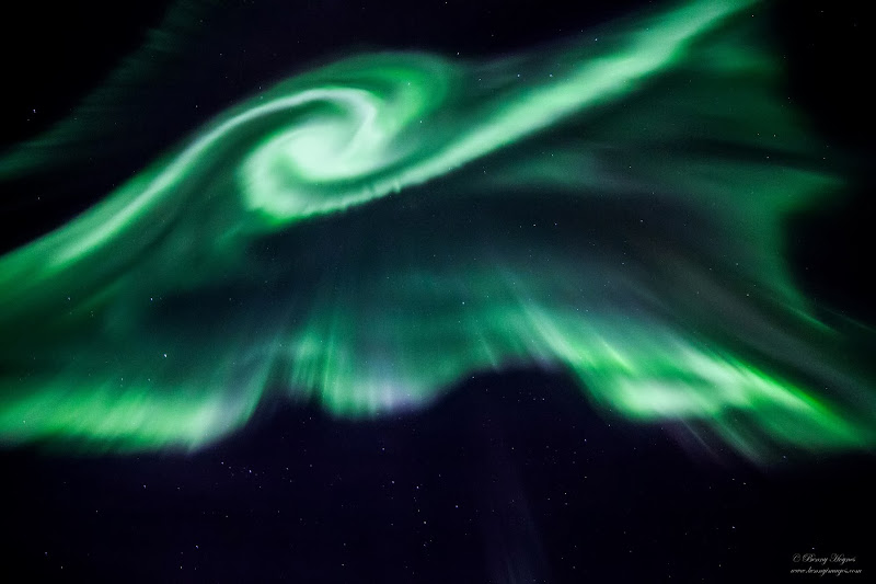 Northern Lights in Norway, Photographer Benny Høynes
