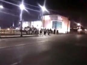Two officers shot in Ferguson - video