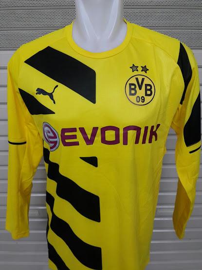 Jual Jersey Dortmund Home Lengan Panjang 2014-2015