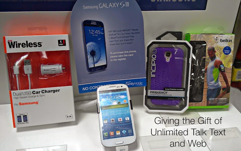 Unlimited Talk Text and Data Make a Great Gift! #FamilyMobile #shop