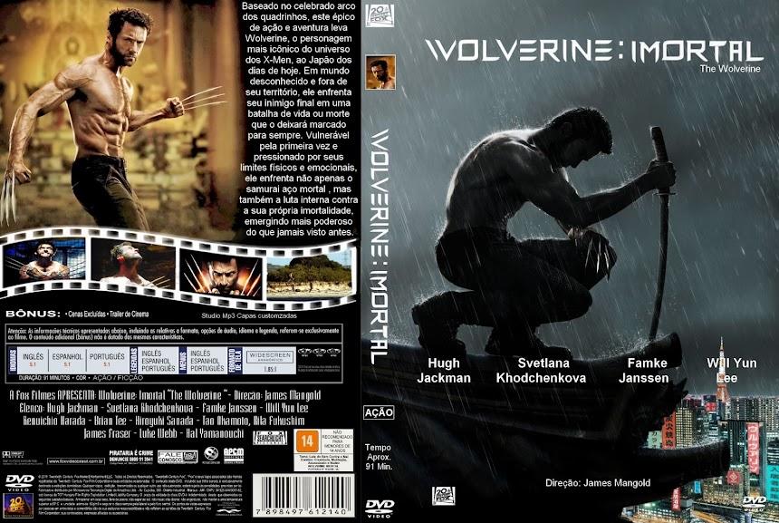 Baixar Filme capa do filme Wolverine Imortal Wolverine Imortal (The Wolverine) (2013) DVDRip AVi Dublado