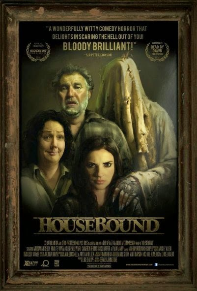 Poster Of English Movie Housebound (2014) Free Download Full New Hollywood Movie Watch Online At Alldownloads4u.Com