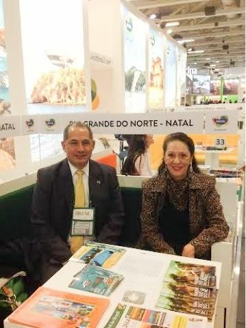 Turismo oficial do RN participa da maior feira  da Europa
