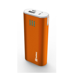 Jackery® Bar Premium Aluminum Portable Charger Battery Power Bank - 6000mAh - image