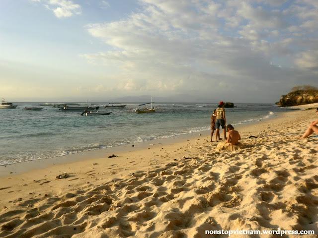 Beach, rest / Part, pihenés