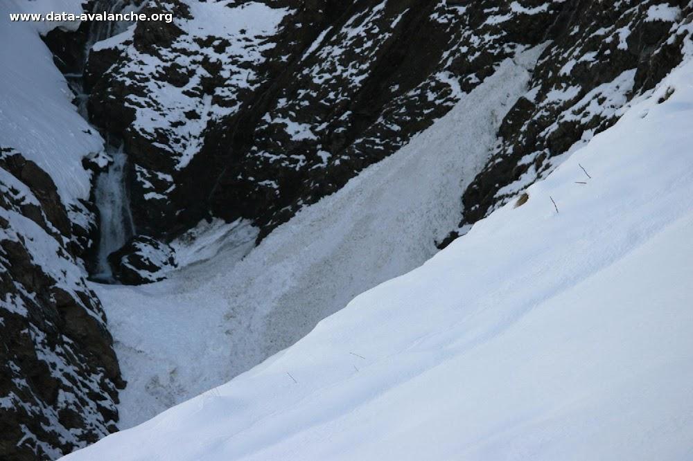 Avalanche Haute Maurienne, secteur Col de l'Iseran, Aval du Pont de la Neige - Photo 1