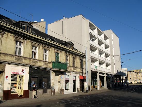 Łódź - pomieszanie stylów na Piotrkowskiej