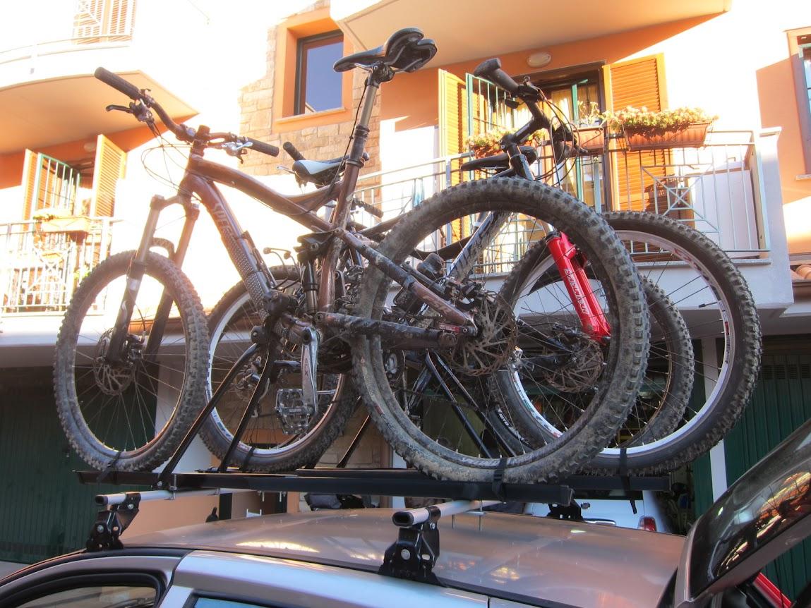 Trasporto bikesul tetto | MTB MAG