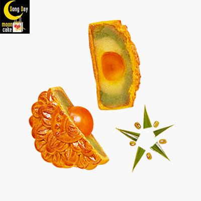 Bánh trung thu Kinh Đô đậu xanh lá dứa