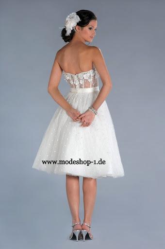 Braut mode brautkleid timor kurz