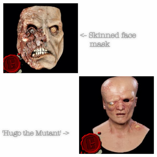 Scary face masks