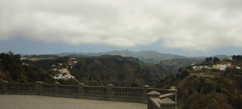 Die Berge Gran Canarias, von Moya aus gesehen.