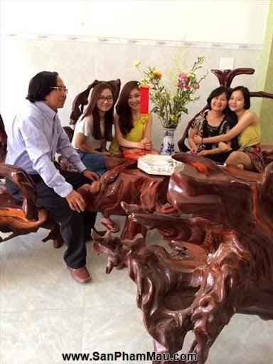 Nhà nhiều đồ gỗ lạ của Tam Triều Dâng - Xưởng đồ gỗ nội thất-1