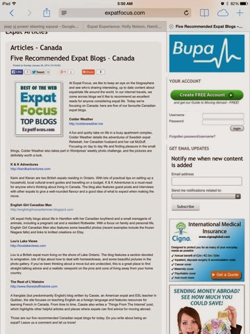http://www.expatfocus.com/c/aid=1417/articles/general/five-recommended-expat-blogs---canada/