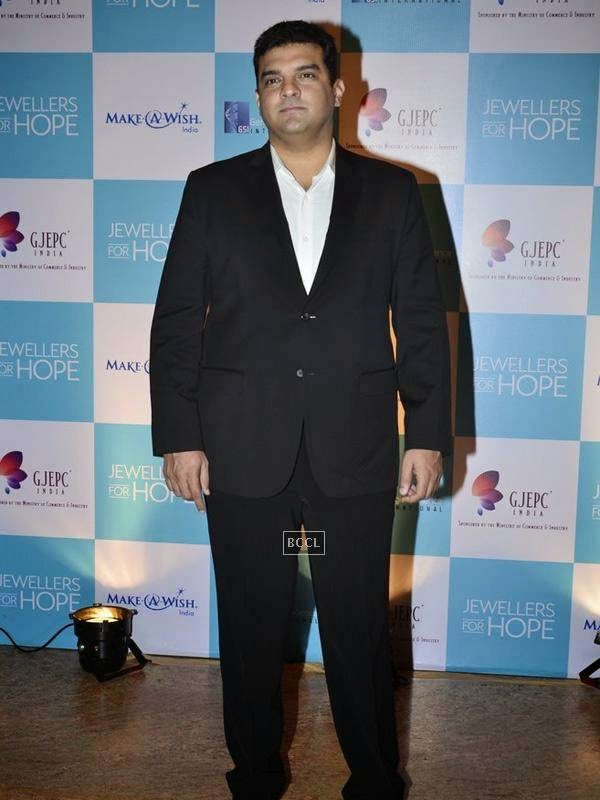 Siddharth Roy Kapur at the Gems and Jewellery Export Promotion Council (GJEPC) charity gala dinner at Grand Hyatt, Mumbai. (Pic: Viral Bhayani)<br />