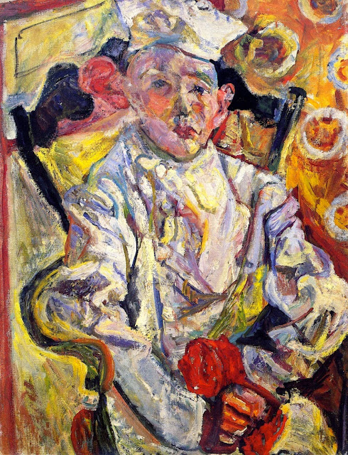 Chaim Soutine - The Pastry Cook