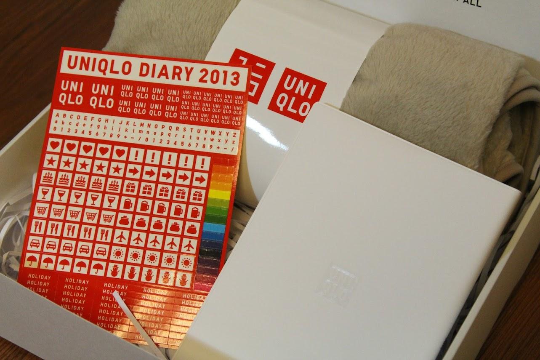 *好康贈送:1/13~1/21 限量 「UNIQLO禮盒 (刷毛保暖毯+2013日誌手帳)」!(已截止) 2