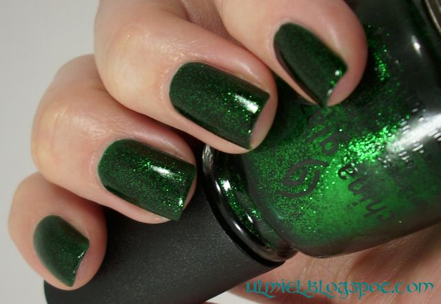 Did Someone Say Nail Polish China Glaze Emerald Sparkle And Related Bday Present