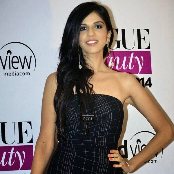 Designer Nishka Lulla attends Vogue Beauty Awards 2014, held at Hotel Taj Lands End in Mumbai, on July 22, 2014.(Pic: Viral Bhayani)